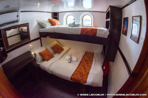 Seadoors Standard (Upper Deck) Cabin