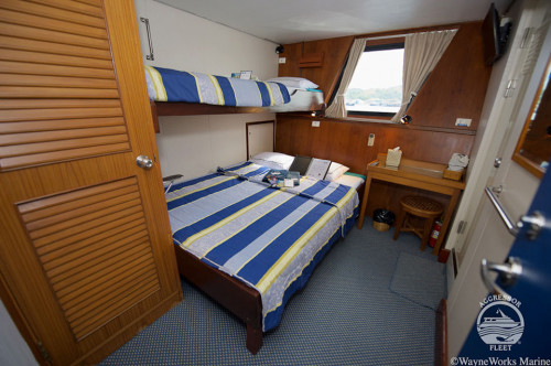 Raja Ampat Aggressor Deluxe Staterooms Cabin