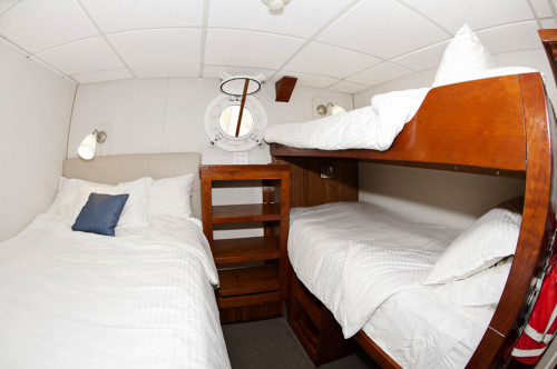 Nautilus Explorer Triple Stateroom Cabin