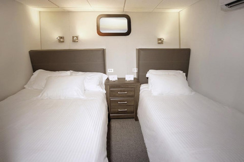 Nautilus Belle Amie Single Stateroom - Lower Deck Cabin