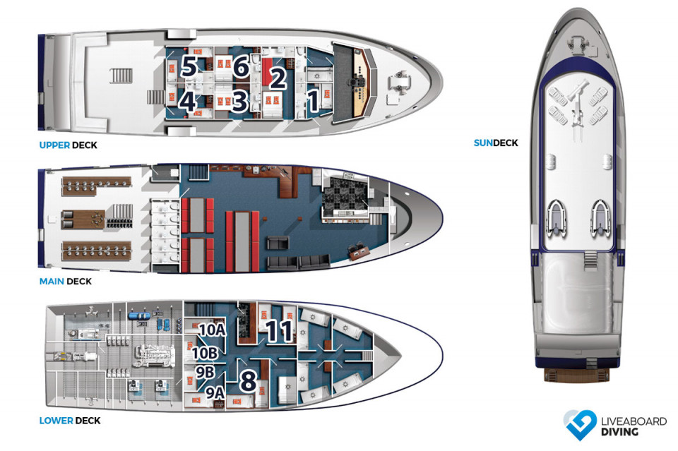 Solomons PNG Master Deck Plan