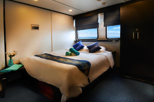 Galapagos Master Premium Double (main deck) Cabin