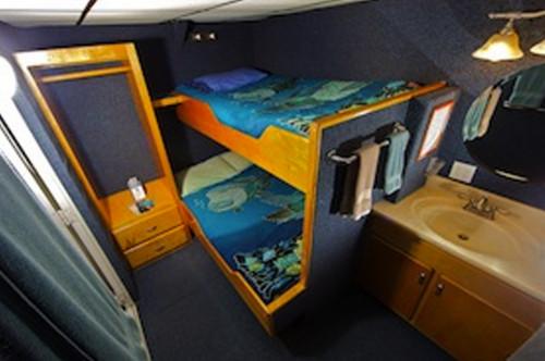 Palau Aggressor II Double Stateroom Cabin