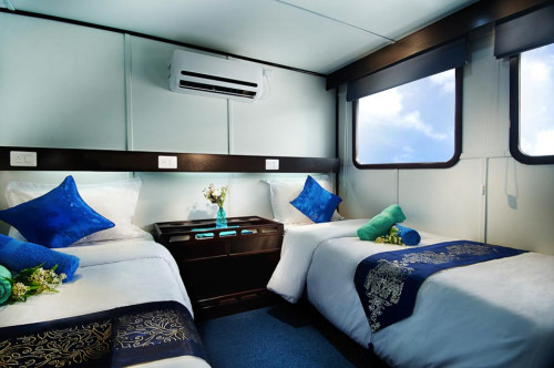 Galapagos Master Premium Twin/Double (upper deck) Cabin