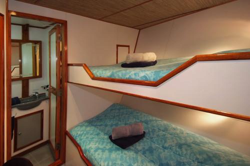 Ocean Hunter III Deluxe Cabin
