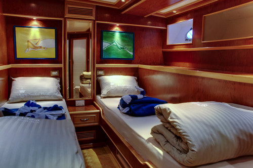 Snefro Love Twin Berth Cabin