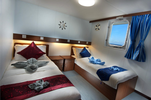 French Polynesia Master Premium Twin Cabin