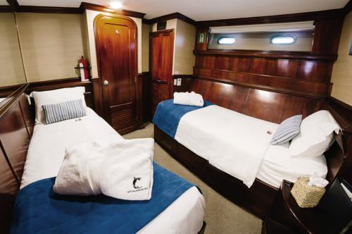 Galapagos Sky Deluxe Twin Cabin