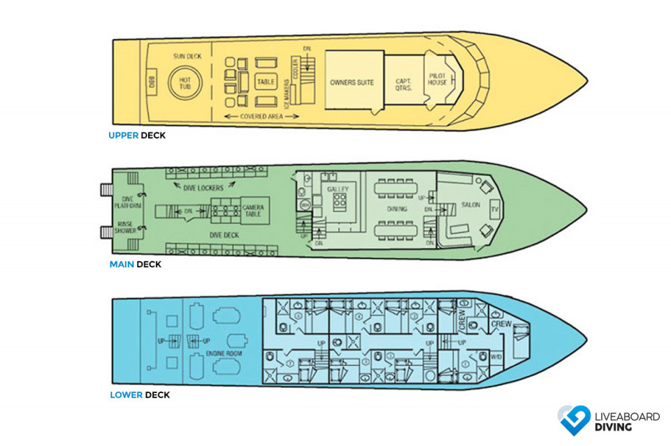 Atlantis Azores Deck Plan