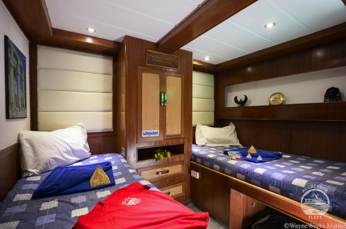Red Sea Aggressor I Deluxe Stateroom Cabin