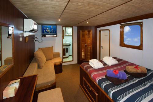 Ocean Hunter III Master Cabin