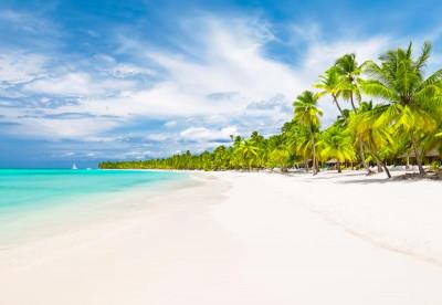 Beautiful beach in the Bahamas