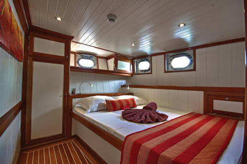 Galatea Double Cabin - Lower Rear Cabin