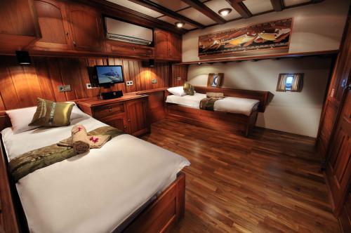 Palau Siren Premium Twin Cabin