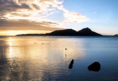 Truuk and Palau Diving - Sunset