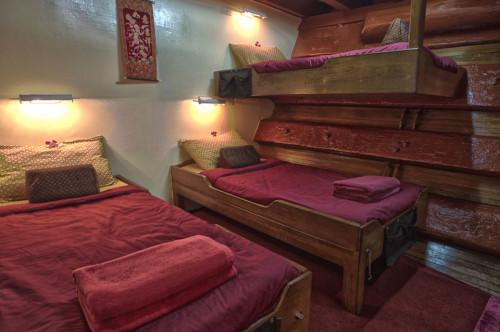 The Junk Triple Cabin