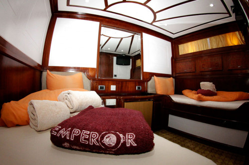 MV Emperor Elite Standard Cabin - Lower Deck Cabin