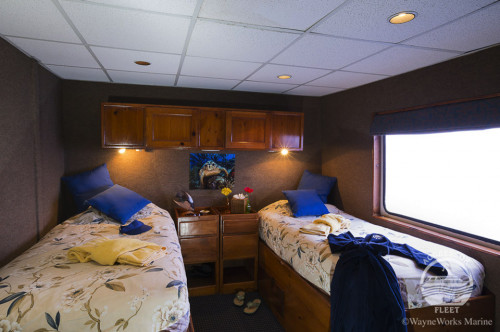 Belize Aggressor IV Deluxe Stateroom Cabin