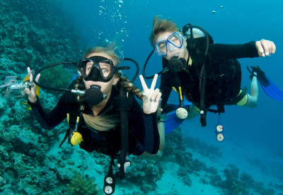 Liveaboard Divers in the Bahamas