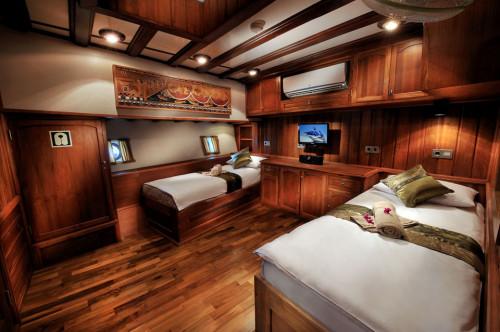 Palau Siren Premium Twin/Double Cabin