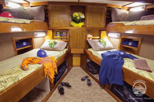 Bahamas Aggressor Quad Stateroom Cabin
