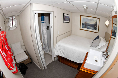 Nautilus Explorer Single Stateroom Cabin