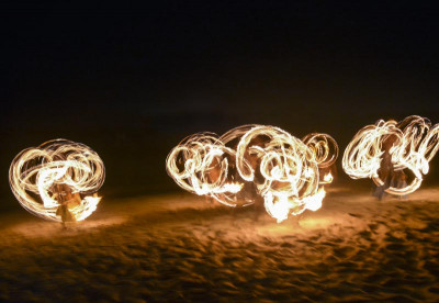 Fire Dancers - Fiji