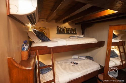 Indo Aggressor Twin Stateroom Cabin