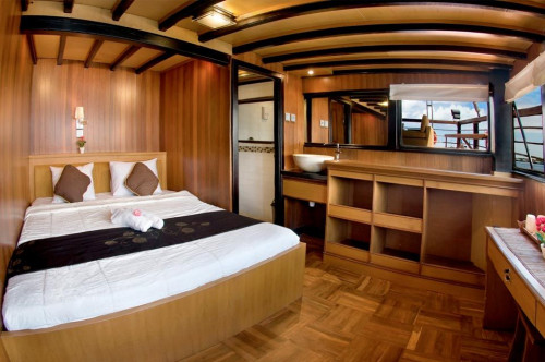 Cheng Ho Double Bed Upper Deck Cabin