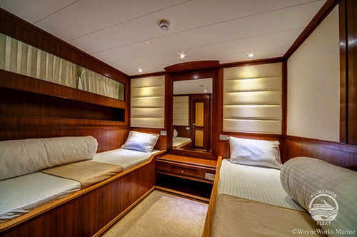 Red Sea Aggressor II Deluxe Stateroom Cabin